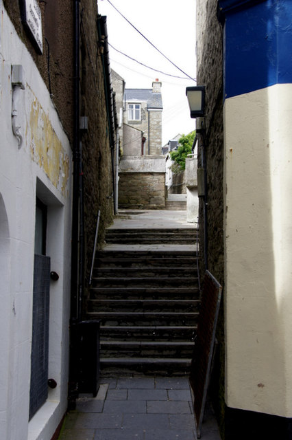 Pitt Lane formerly Leask's Closs, Lerwick
