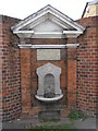 TQ4066 : Drinking fountain in Hayes by Basher Eyre