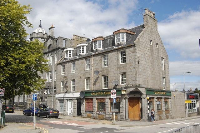 The Saltoun Arms, Frederick Street, Aberdeen