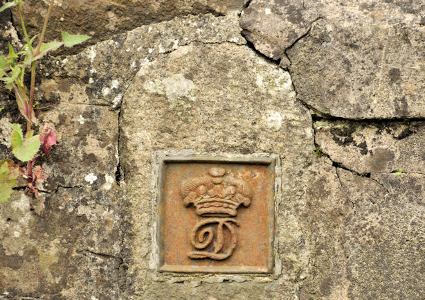 Downshire estate boundary mark near Lisburn