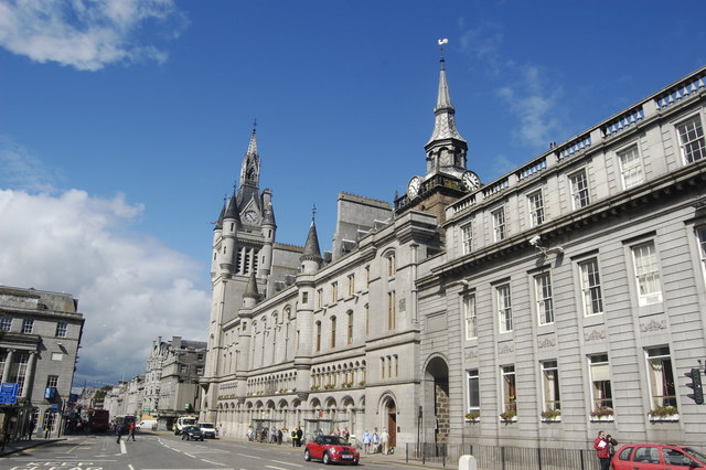 Aberdeen: the civic heart