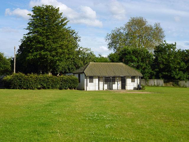 Cricket pavilion, Raphael Park