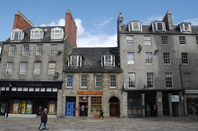 Portal's Bar, the Castlegate, Aberdeen