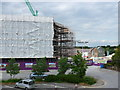 SY6990 : Brewery Square under Construction by Nigel Mykura