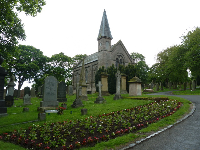 Chapel, Tweedmouth Cemetery