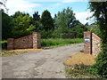 TL3993 : A new entrance to Grange Farm near March by Richard Humphrey