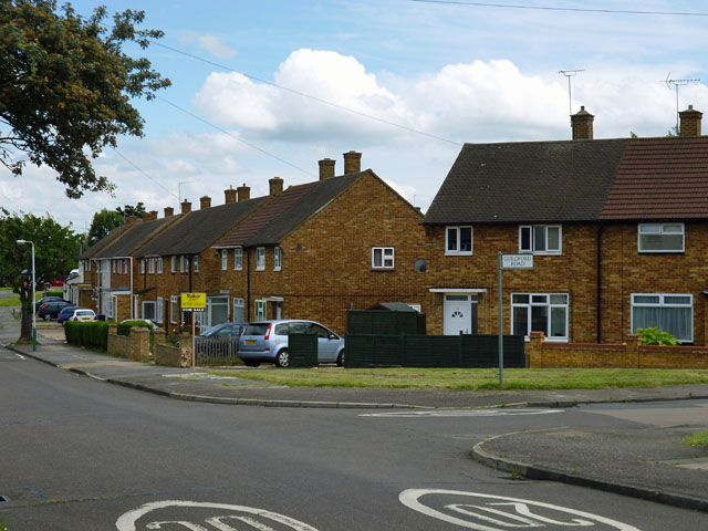 Houses on Dewsbury Road, Harold Hill