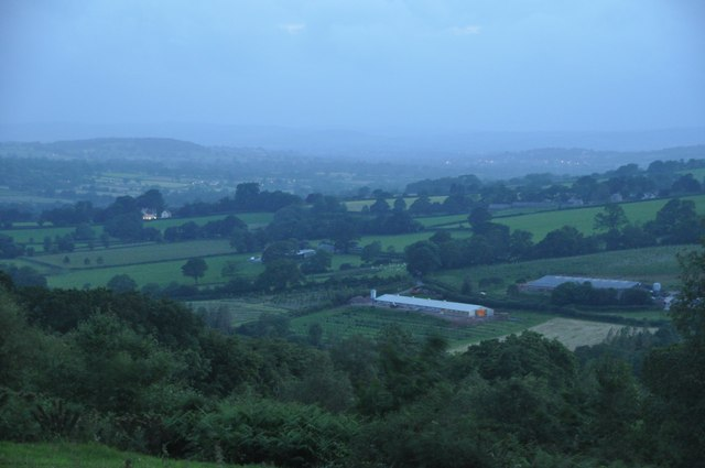 Mid Devon : Culm Valley Scenery