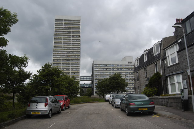 Tower blocks, Castlehill