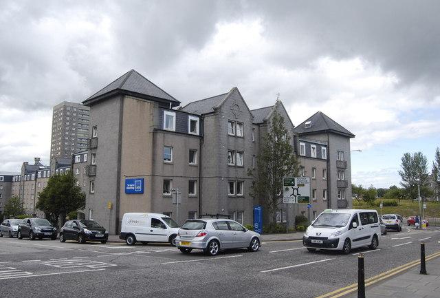 Student flats, Gallowgate, Aberdeen