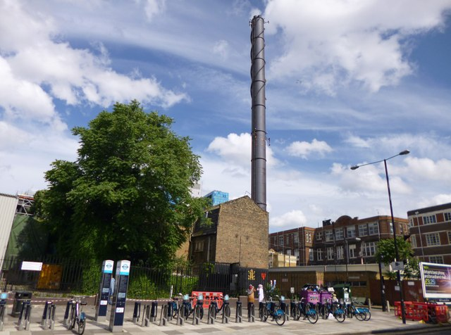 Whitechapel, chimney