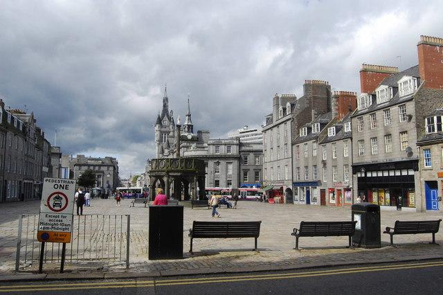 Castlegate, Aberdeen