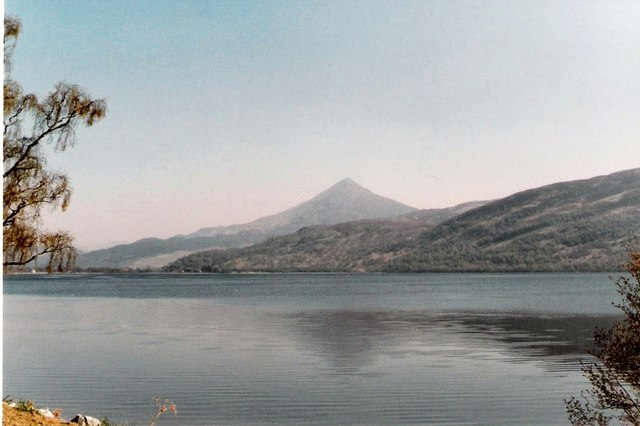 Schiehallion and Loch Rannoch in late winter