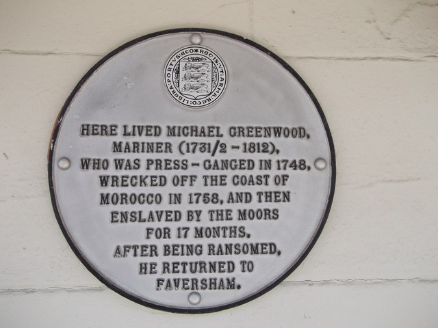 Plaque on Wall of No.89 Abbey Street, Faversham