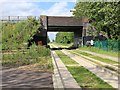 TL4555 : Long Road bridge over guided busway by David P Howard