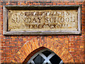 SJ8397 : Datestone, St Matthew's Sunday School by David Dixon