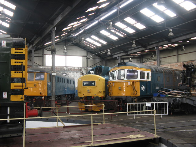 Trains in the Roundhouse