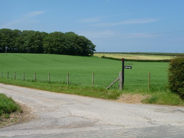 The entrance to North Dale farm