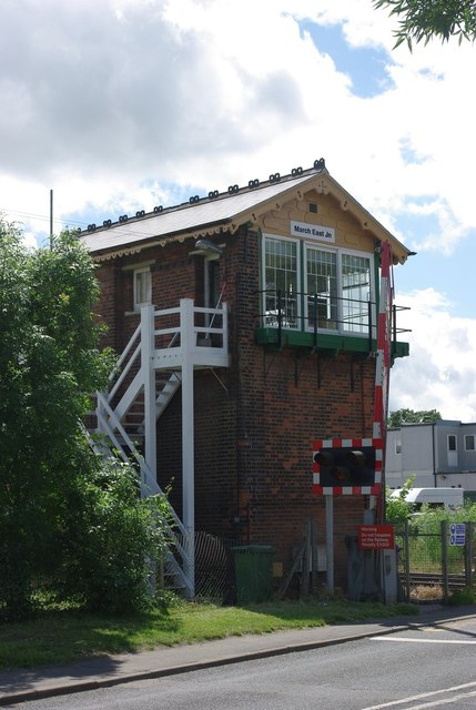 March East Junction signal box