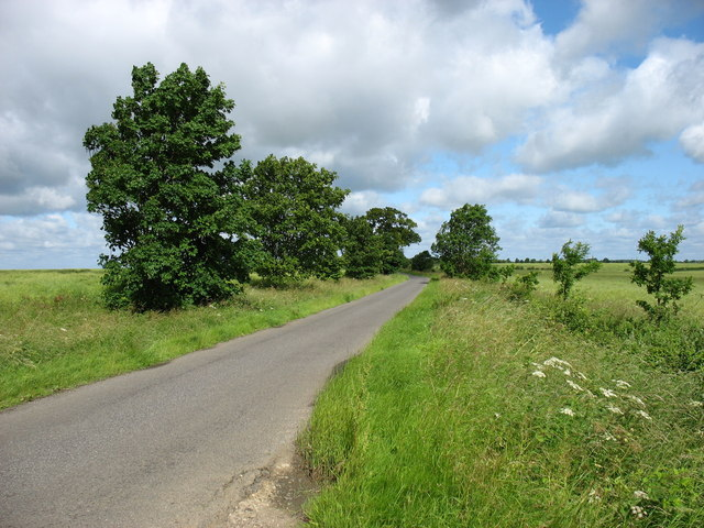 The lane to Old Weston
