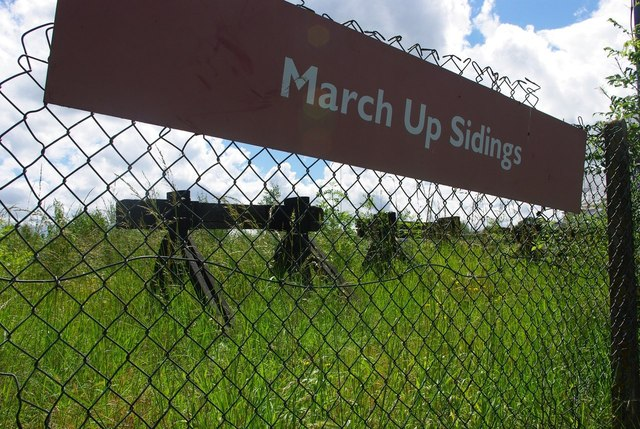 March Up Sidings