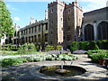 TQ3079 : Lambeth Palace from the herb garden by Ian Yarham