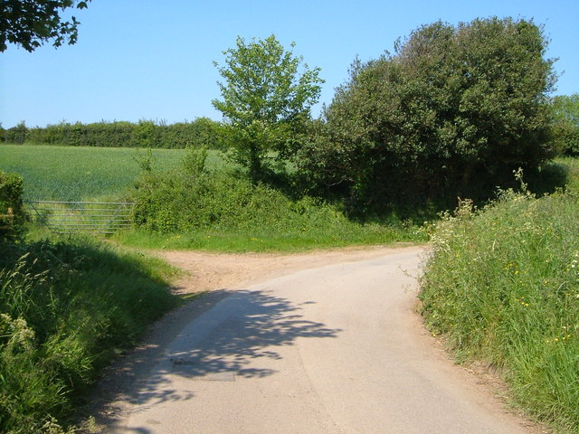 Lane near Gooseford