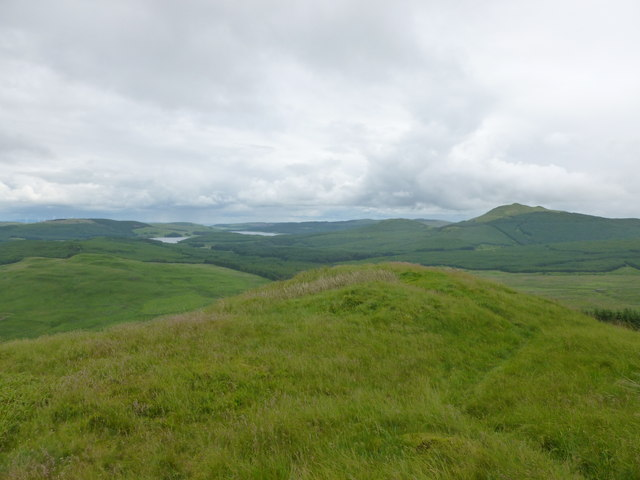 Near the summit of Dungoil