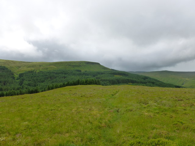 Western slopes of Dungoil