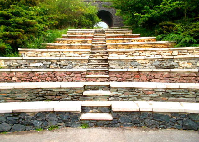 Steps at the Stone Centre