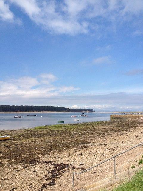Towards Findhorn Bay