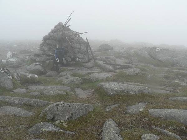 Summit Cairn & ironwork