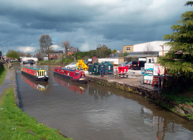 Canal Scene, Middlewich