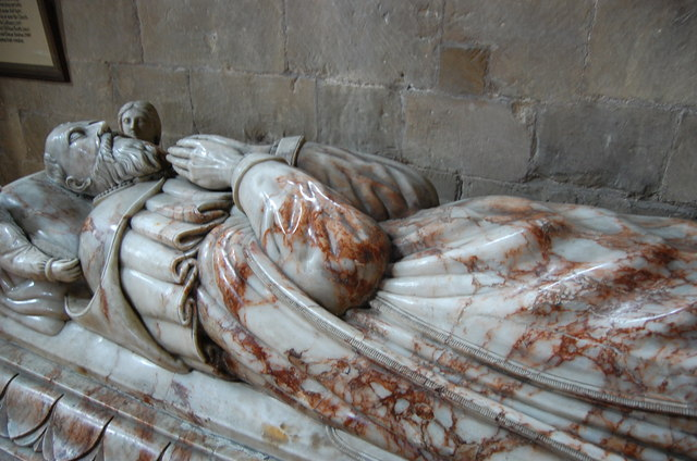 Tomb of Archbishop Sandys, Southwell Minster