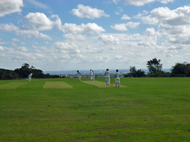 Match at Havering-atte-Bower Cricket Club