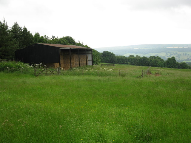 Barn on the hillside