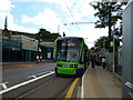 TQ3266 : West Croydon:  New Stadler tram by Dr Neil Clifton