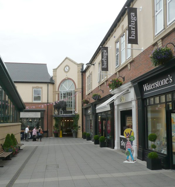 North entrance to Sanderson Arcade