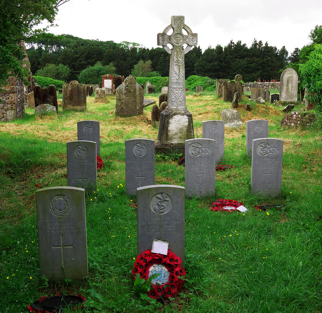 War graves, Bonamargy Friary