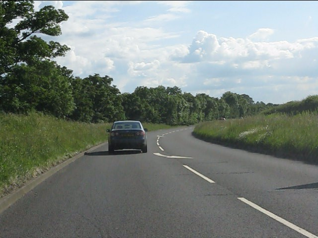 A418 southwest of Dinton Castle