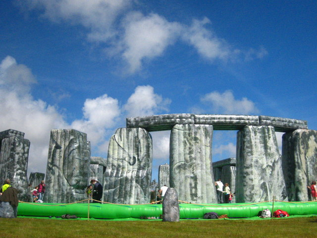 Stonehenge comes to Heartlands at Pool!