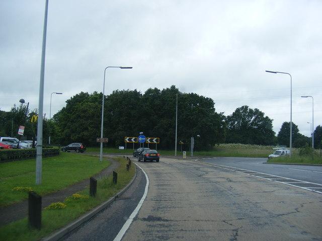 A1081 near McDonald's