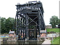 SJ6475 : The Anderton Boat Lift in August 2005 by Ruth Riddle