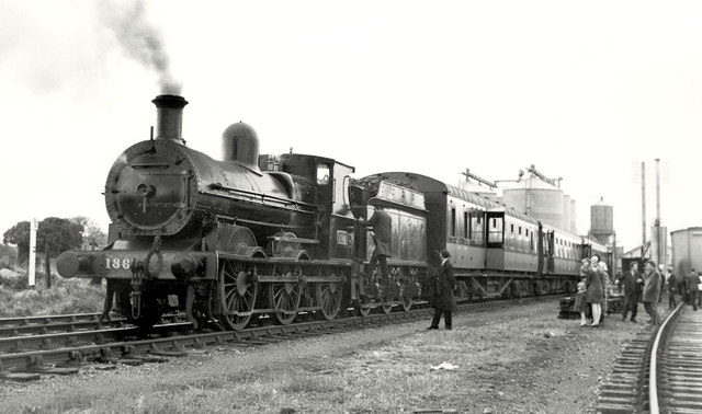Steam train, Ardee