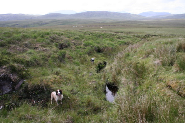Burns, bogs, and moorland..