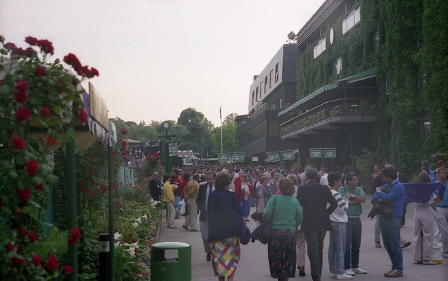 Wimbledon 1987 - South Concourse