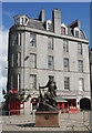 NJ9406 : Gordon Highlander Memorial, The Castlegate, Aberdeen by Bill Harrison