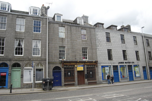 The King's Bar, King Street, Aberdeen
