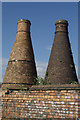 SJ8847 : Kilns by the Caldon Canal by Stephen McKay