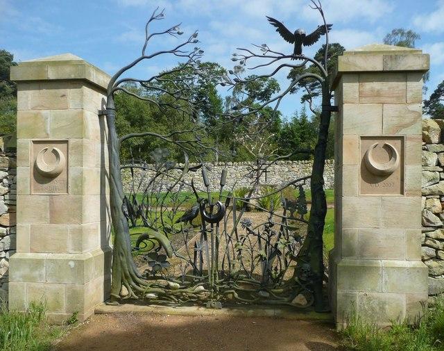 Gateway to modern graveyard